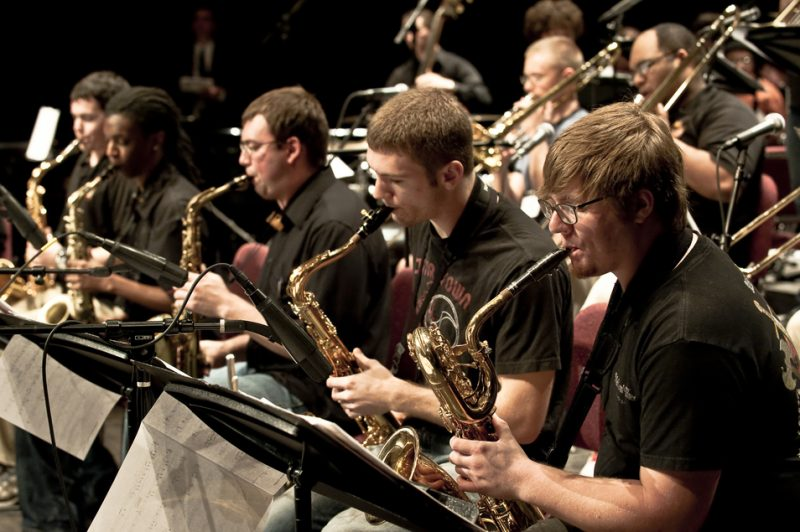 Student musicians at the inaugural JEN conference in St. Louis, Mo.