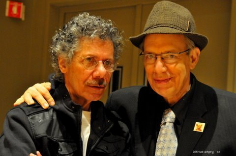 Chick Corea and Todd Barkan