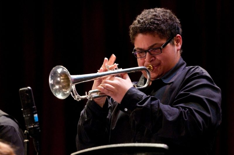 Adam O'Farrill, who was given an outstanding soloist award at last year's MIngus High School competition