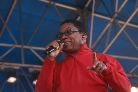 Herbie Hancock at CareFusion Newport Jazz Festival 2010 image 0