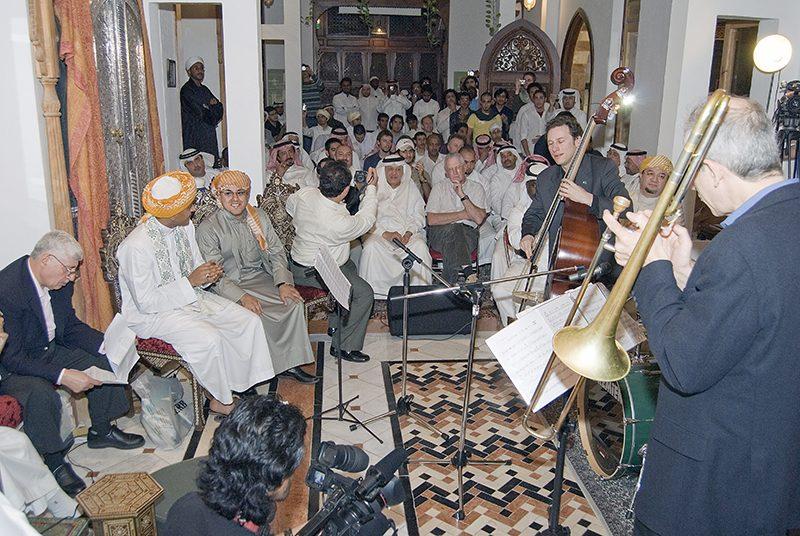 The Chris Byars Quartet performs in Saudi Arabia in February 2008