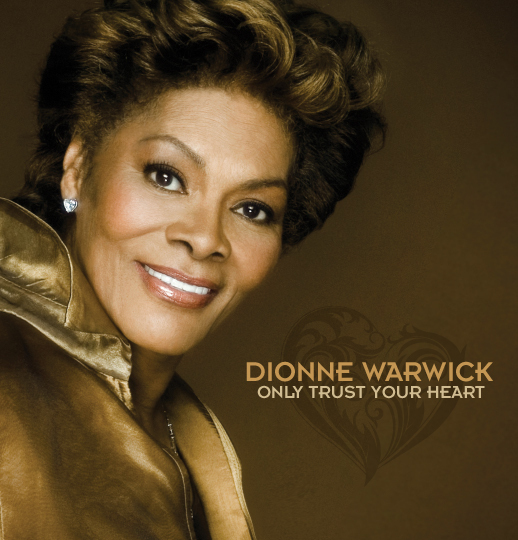 Dionne Warwick's Only Trust Your Heart album cover