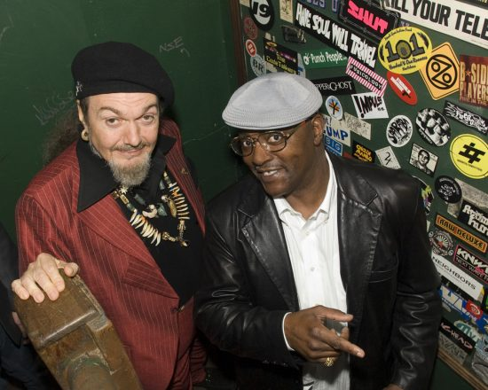 Dr. John & Roscoe at Fats Domino's 80th Birthday Party image 0