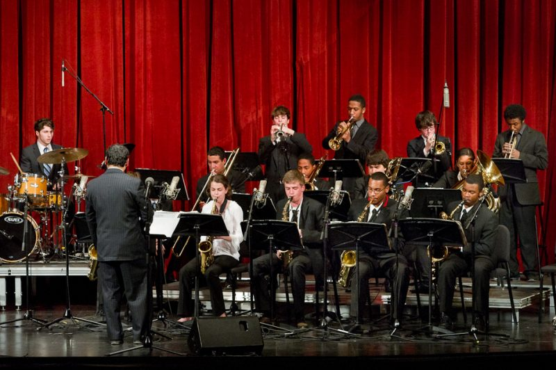 Winner of Best Big Band (specialized): Jazz House Kids Big Band, Montclair, NJ, Julius Tolentino, band director