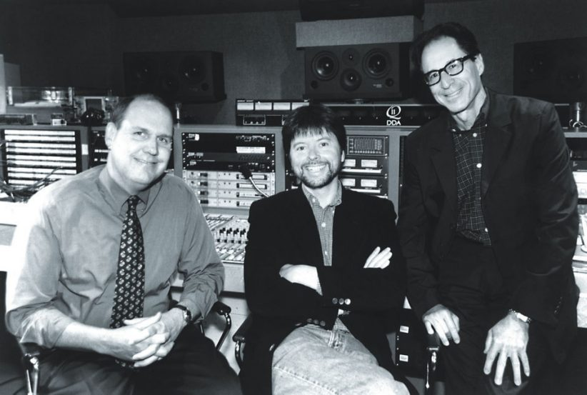 Jeff Jones, Ken Burns and Ron Goldstein