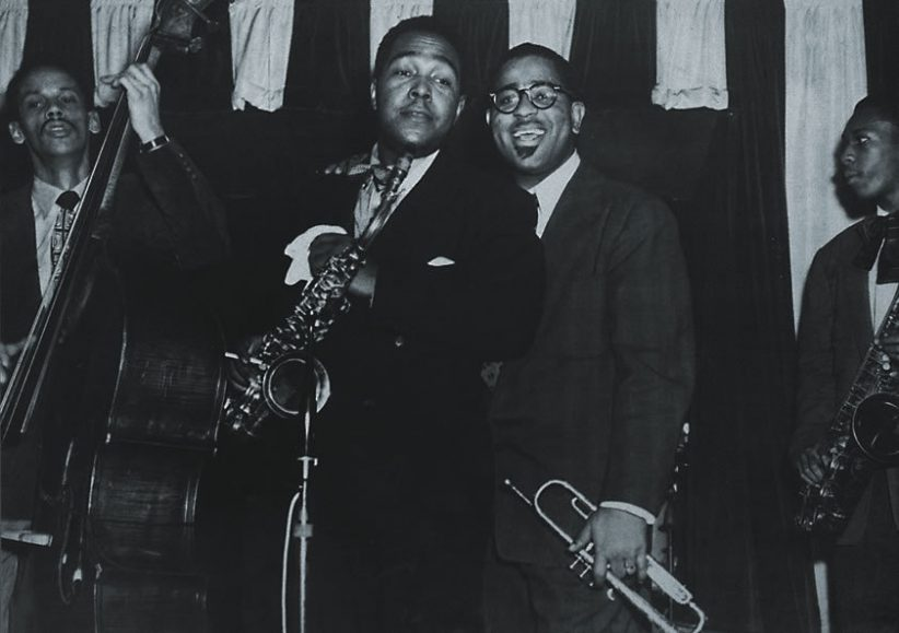 Charlie Parker, Dizzy Gillespie and John Coltrane in Ken Burns' Jazz