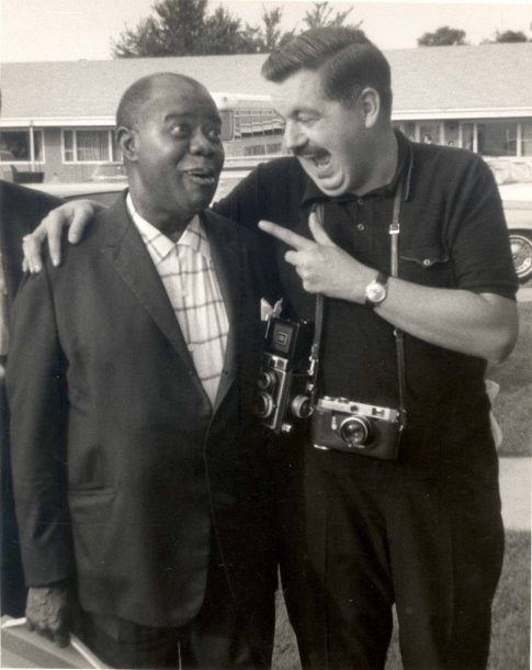 Louis Armstrong and Jack Bradley