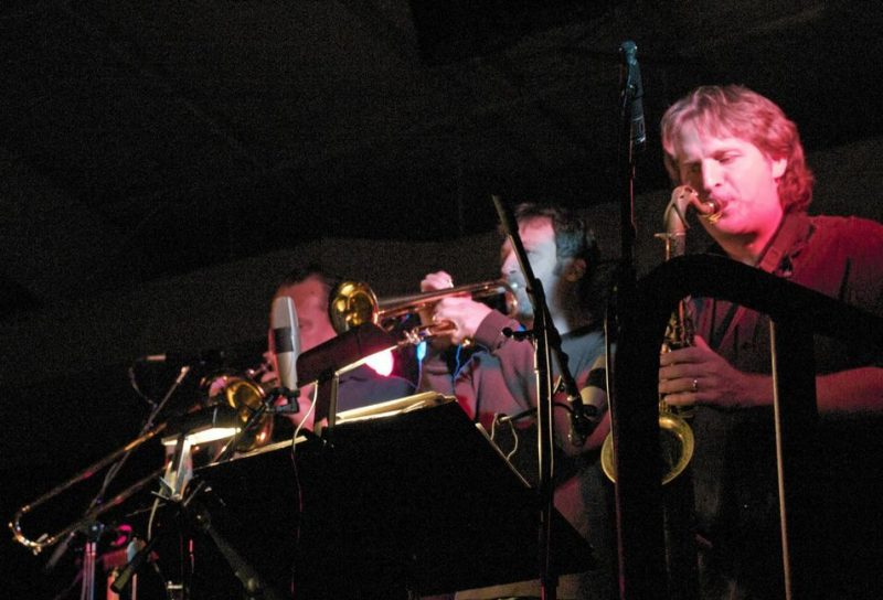 David Torres and Javier Vergara performing with Poncho Sanchez at 2011 Cape May Jazz Festival