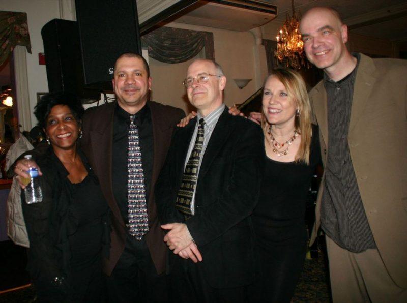 Jeannette Curtis Rideau, Steve Johns, Allen Farnham, Lauren Hooker and Joris Teepe at 2011 Cape May Jazz Festival