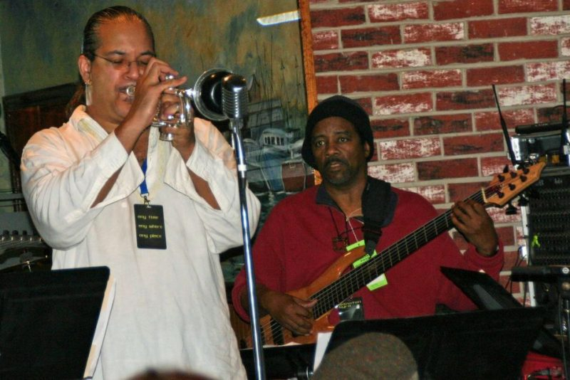 Winston Byrd at the 2011 Cape May Jazz Festival