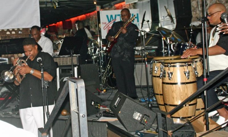 Point Blank with trumpeter Gerald Chavis at the 2011 Cape May Jazz Festival