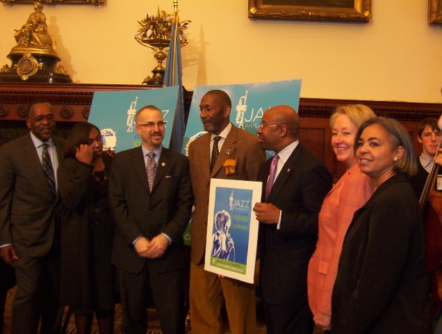 Press conference for Philadelphia Jazz Appreciation Day