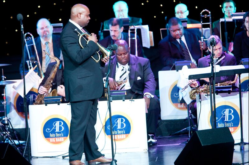 Terell Stafford with Jazz Cruise big band