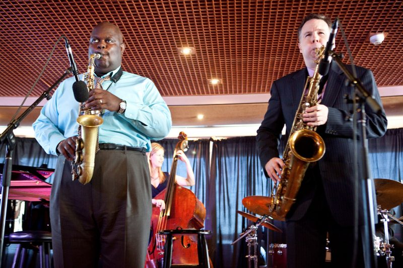 Wessell Anderson & Harry Allen on The Jazz Cruise 2011