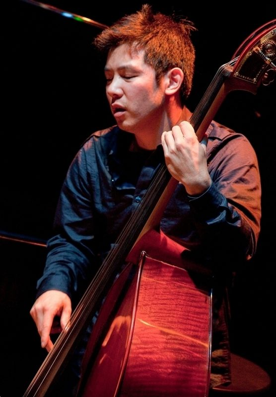 Gary Wang performing with Anat Fort at 2011 Portland Jazz Festival