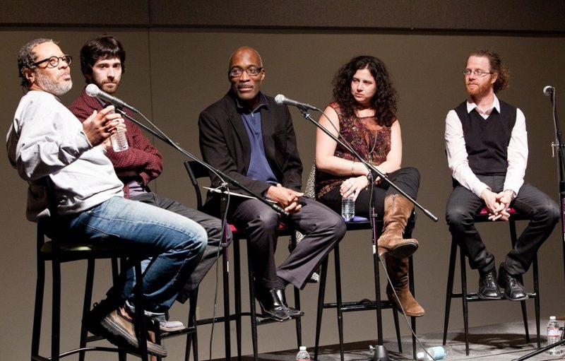 Don Byron, Oran Etkin, Darrell Grant, Anat Cohen and Avishai Cohen at panel during 2011 Portland Jazz Festival