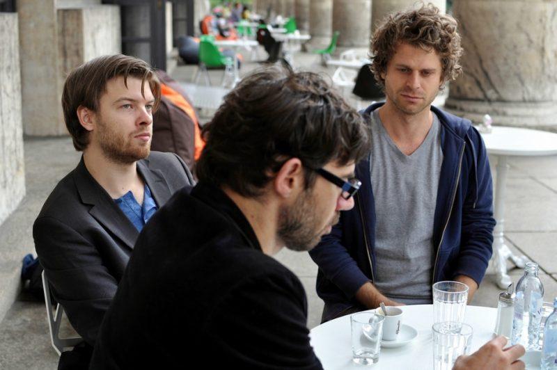 Colin Vallon Trio with Colin Vallon, Patrice Moret and Samuel Rohrer