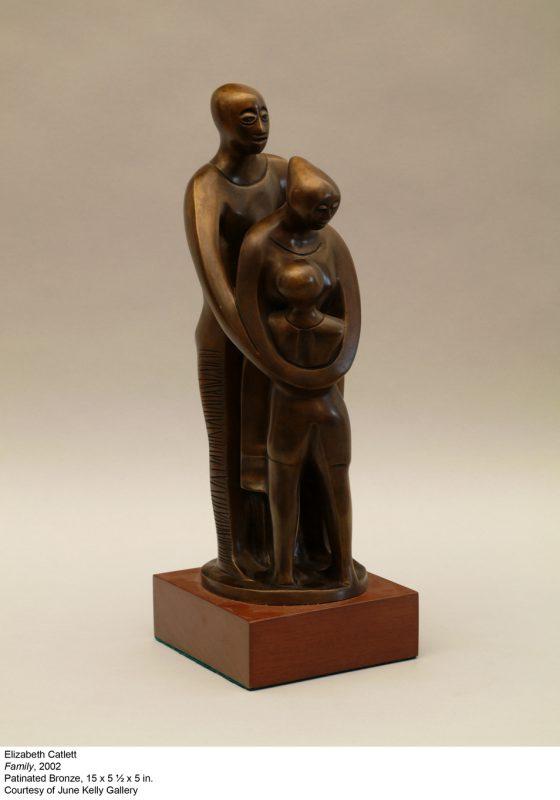 Elizabeth Catlett sculpture