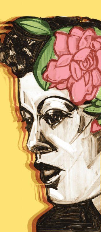 illustration of Billie Holiday