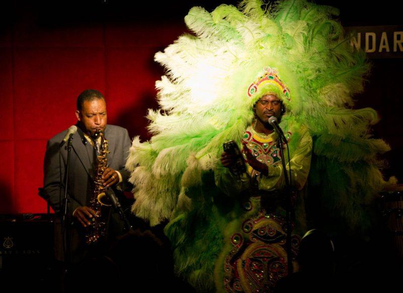 Donald Harrison Jr. and Mardi Gras Indian Shaka Zulu