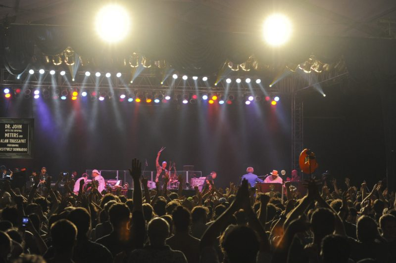Dr. John, the original Meters and Allen Toussaint perform <i>Desitively Bonnaroo</i> at Bonnaroo 2011