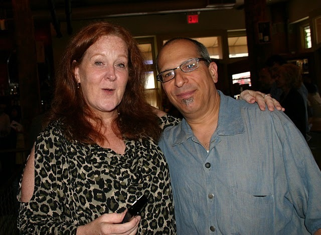 Baritone saxophonists Claire Daly and Gary Smulyan at the 2011 JJA awards ceremony at City Winery in NYC