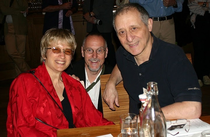 Jane Ira Bloom, John Newcott and Joe Grifasi at the 2011 JJA awards ceremony at City Winery in NYC