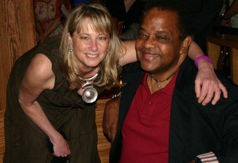 Jane Bunnett and Howard Johnson at the 2011 JJA awards ceremony at City Winery in NYC