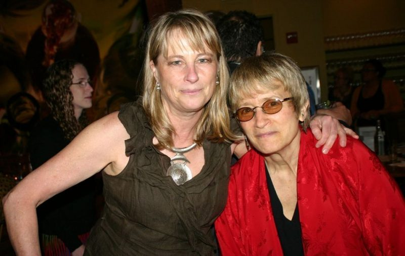 Saxophonists Jane Bunnett and Jane Ira Bloom at the 2011 JJA awards ceremony at City Winery in NYC