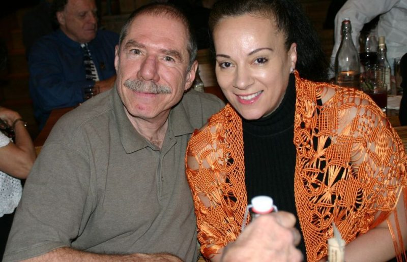 Giacomo Gates and Perez at the 2011 JJA awards ceremony at City Winery in NYC