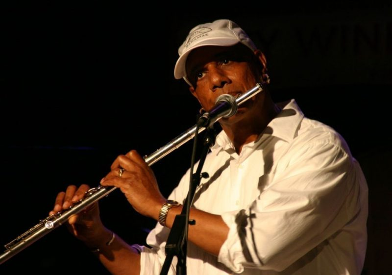 T.K. Blue performing at the JJA awards ceremony on June 11, 20011 at City Winery in NYC