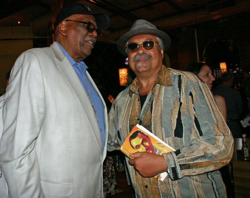 Randy Weston and Joe Lovano at the JJA awards ceremony on June 11, 20011 at City Winery in NYC