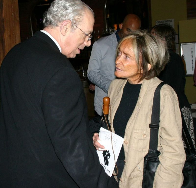 Todd Barkan and Sue Mingus at the 2011 JJA awards ceremony at City Winery in NYC