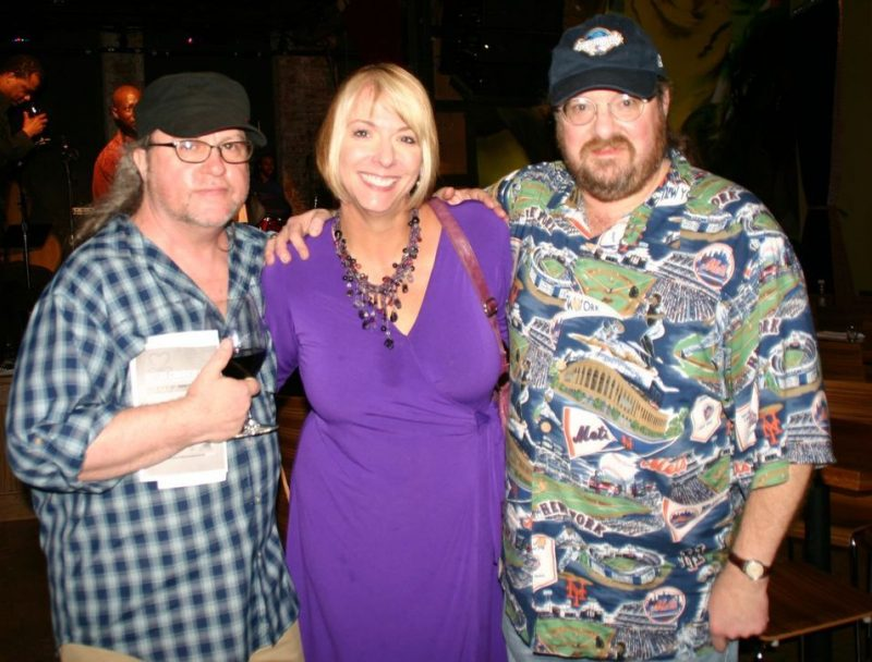 Bill Milkowski, Yvonne Ervin and Mitchell Seidel at the 2011 JJA awards ceremony at City Winery in NYC