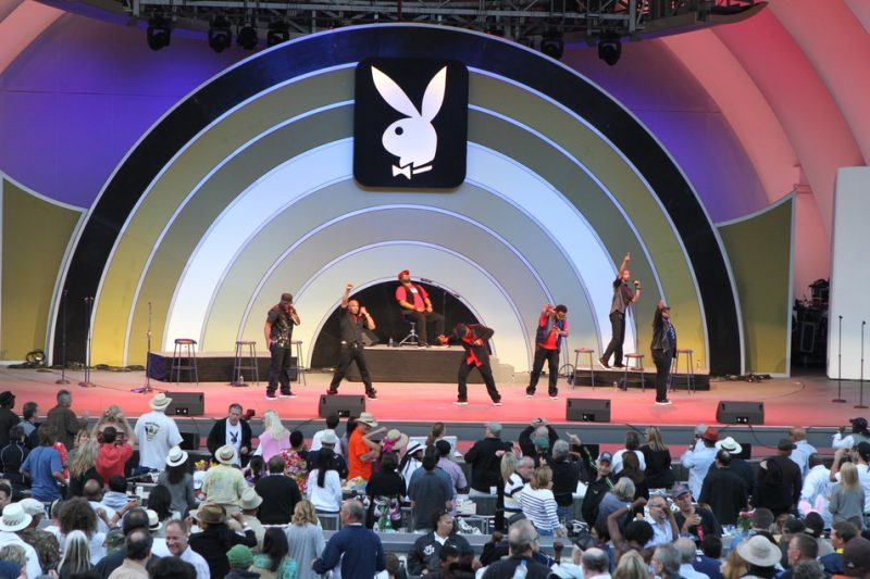 Naturally 7 performing at the 2011 Playboy Jazz Festival