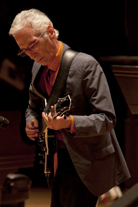 Pat Martino at memorial celebration for Trudy Pitts on June 4, 2011 at the Kimmel Center in Philadelphia