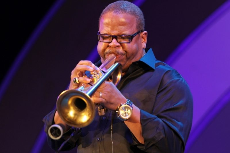 Terence Blanchard performing at the 2011 Playboy Jazz Festival