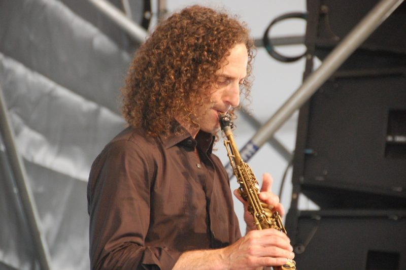 Kenny G  at the 2011 New Orleans Jazz & Heritage Festival