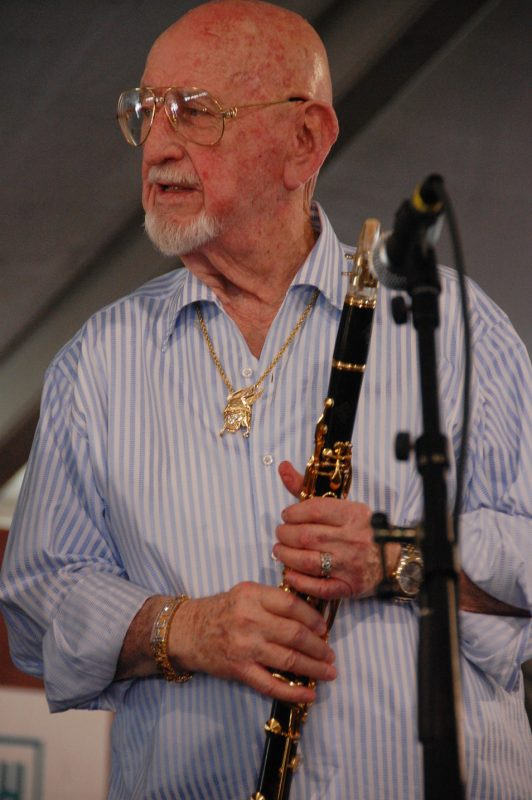 Pete Fountain at the 2011 New Orleans Jazz & Heritage Festival