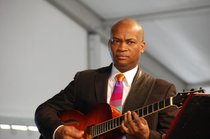 Russell Malone at the 2011 New Orleans Jazz & Heritage Festival