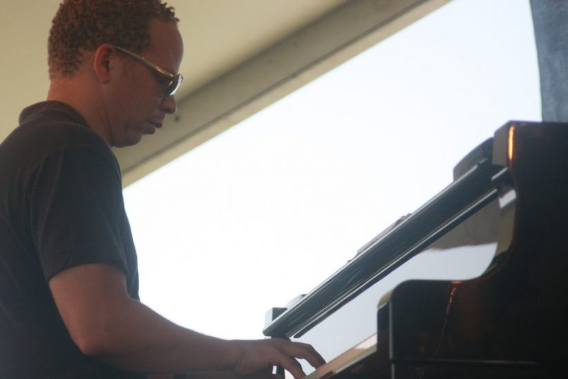 Craig Taborn performing with David Binney at CareFusion Newport Jazz Festival 2010