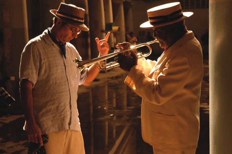 Andy Garcia directs Alfredo Chocolate Armenteros in The Lost City