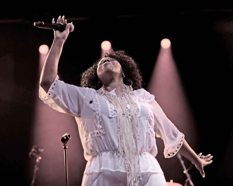 Angie Stone at The Hague Jazz 2011
