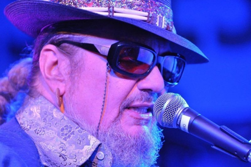 Dr. John in performance at BluesFest held at Under the Bridge in London