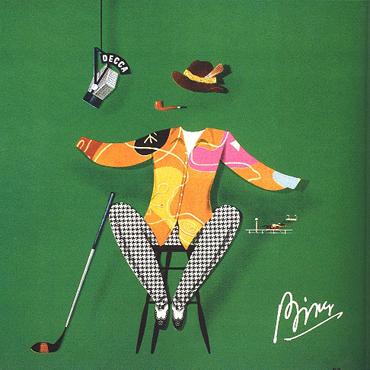 Bing Crosby album cover by Alex Steinweiss