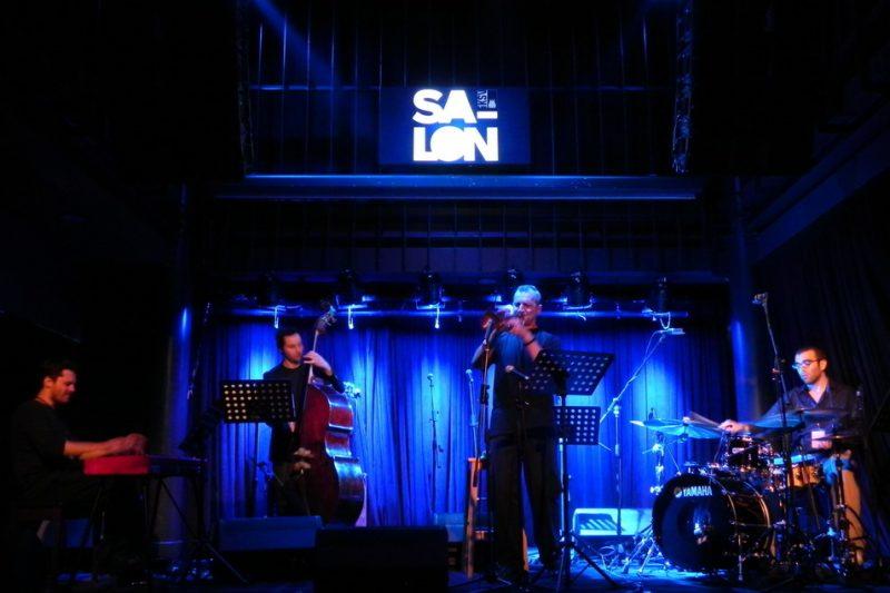 Can Cankaya Quartet: Can Cankaya, keyboards; Ozan Musluoglu, bass; Imer Dimerir, trumpet; Derin Bayhan, drums