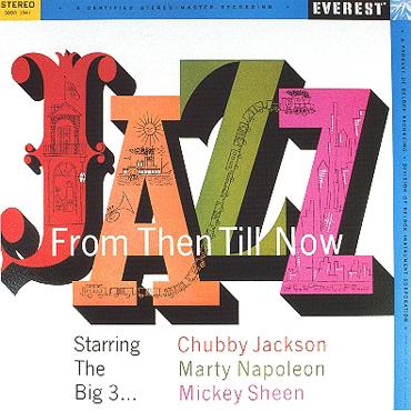 Jazz Then Till Now album cover by Alex Steinweiss