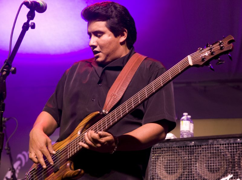 Joey Garza of Los Lonely Boys in performance at 2011 TD Toronto Jazz Festival