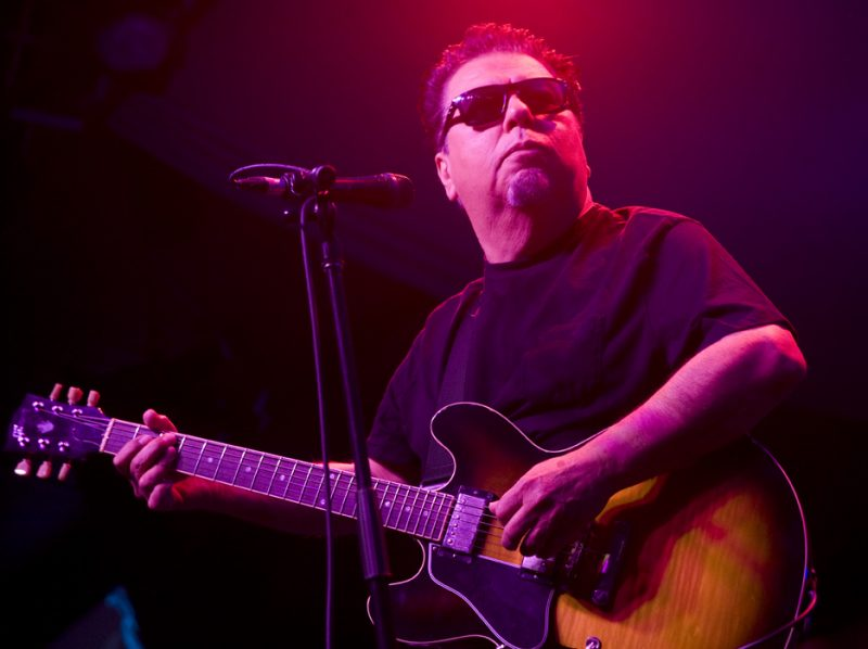 Cesar Rosas with Los Lobos in performance at 2011 TD Toronto Jazz Festival