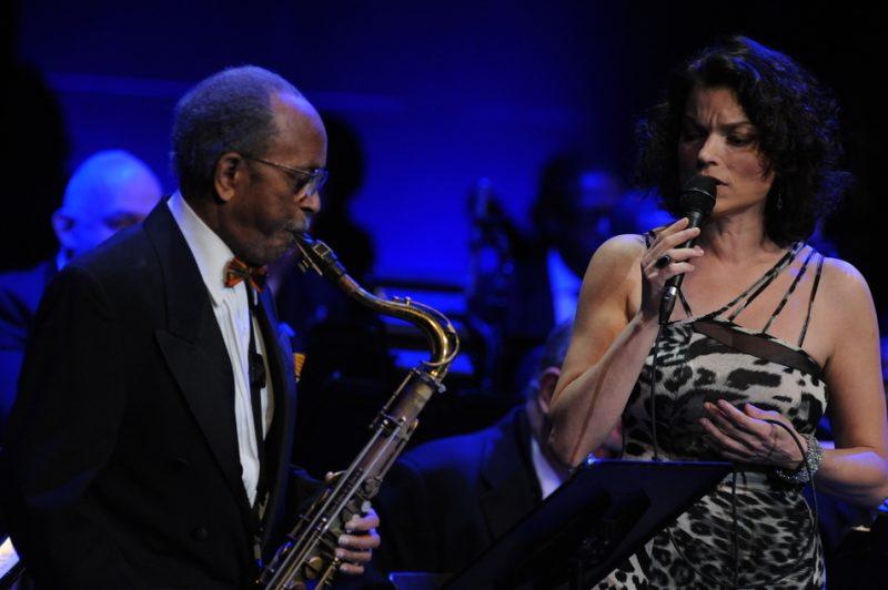 Jimmy Heath and Roberta Gambarini performing at NEA Jazz Masters ceremony